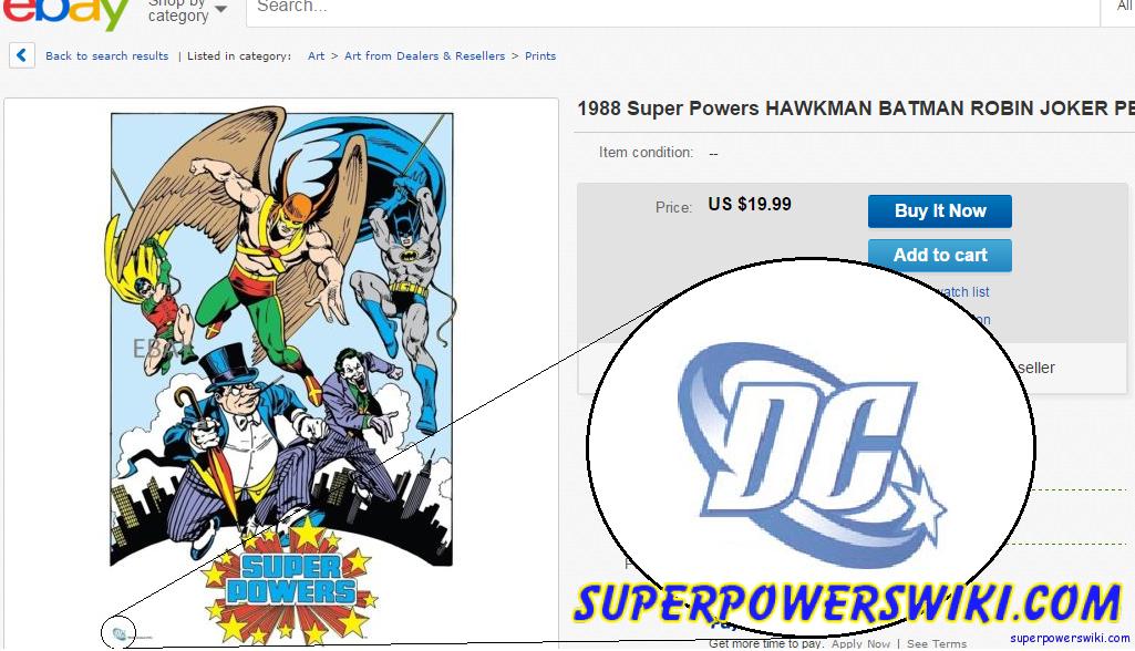 "Super Powers ""vintage"" poster prints – Beware! – Super"
