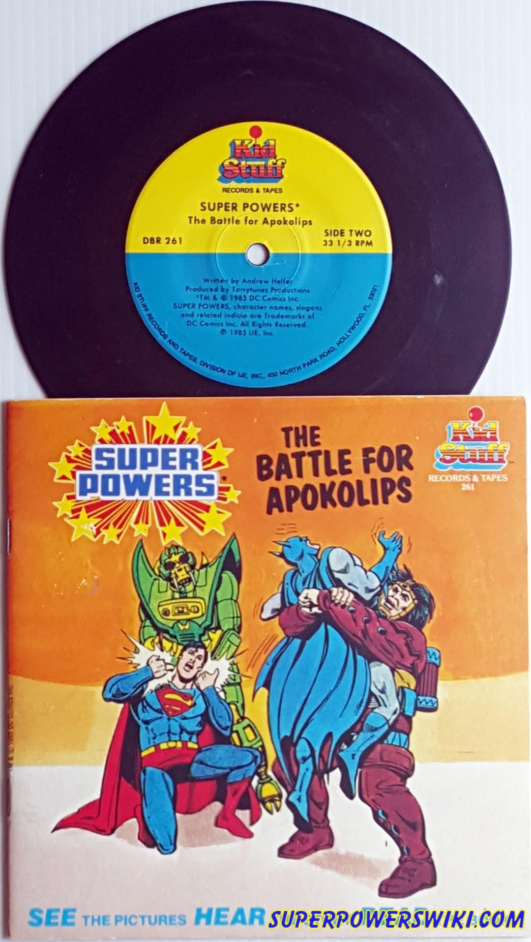 Kid Stuff Books Records Tapes Super Powers Wiki