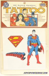 Removable Tattoos Super Powers Wiki