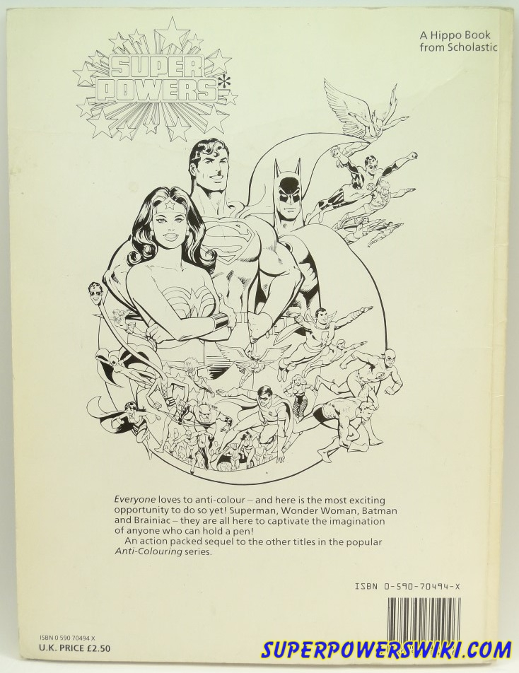 Anti-Coloring Book (by Susan Striker) | Super Powers Wiki