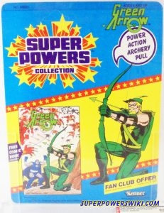 Green Arrow Proof Card Front