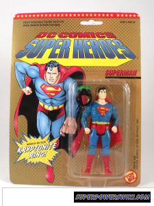 Carded 1989 Toy Biz Superman