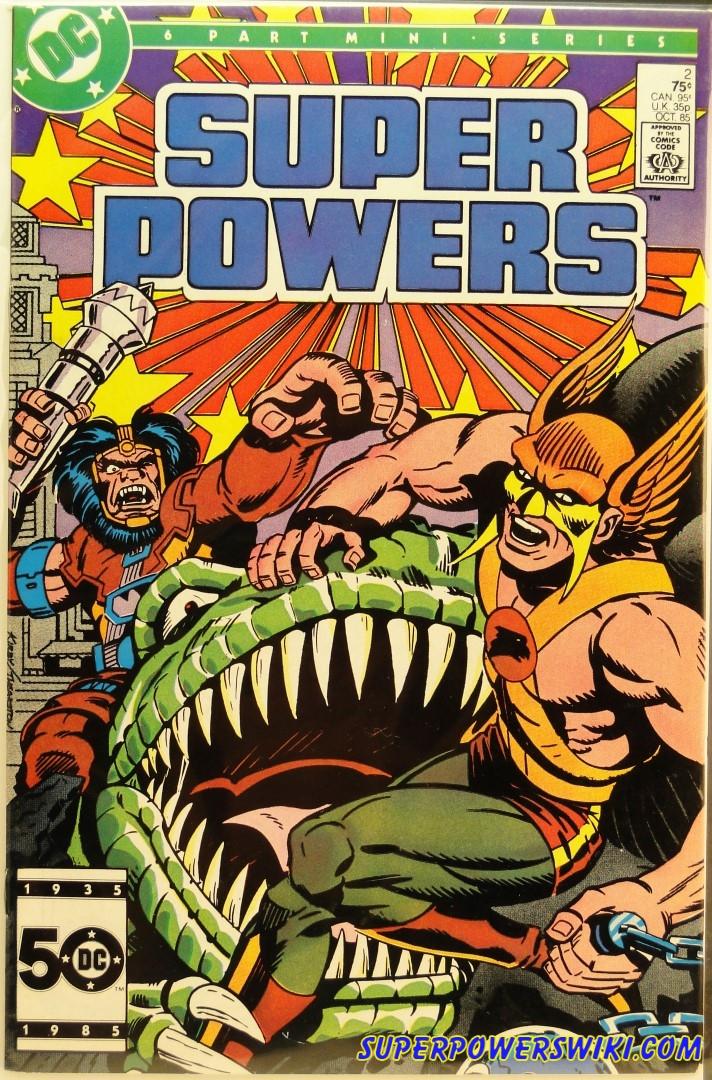 DC Comics Series | Super Powers Wiki