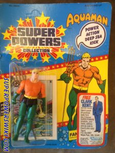 Super Powers Aquaman card front
